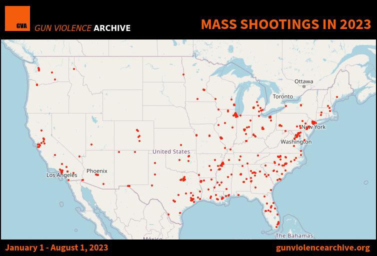 Mass Shootings - 2016