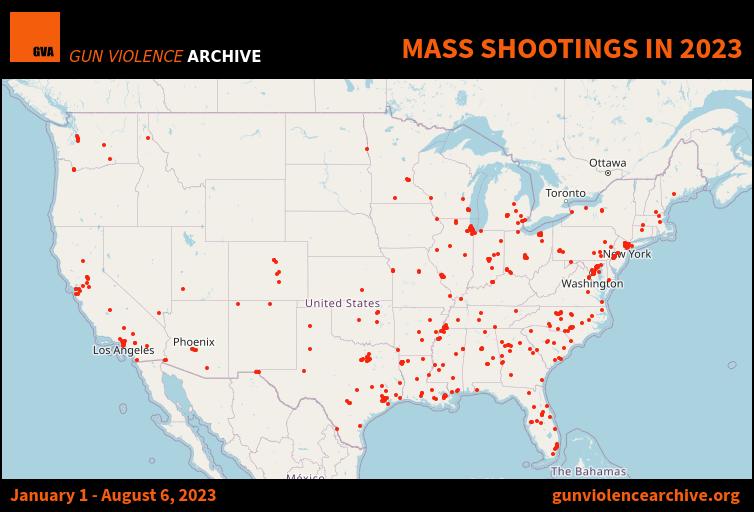 Mass Shootings - 2018