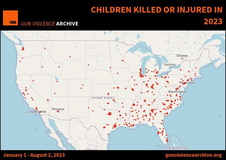 Children Killed or Injured in 2019