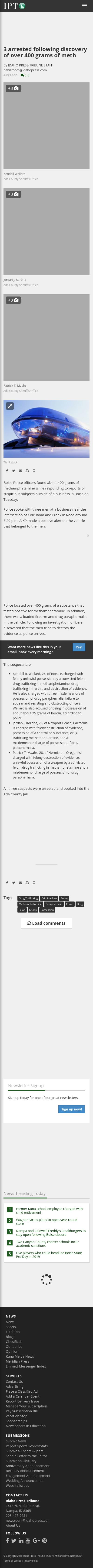 Ada County Crime Report