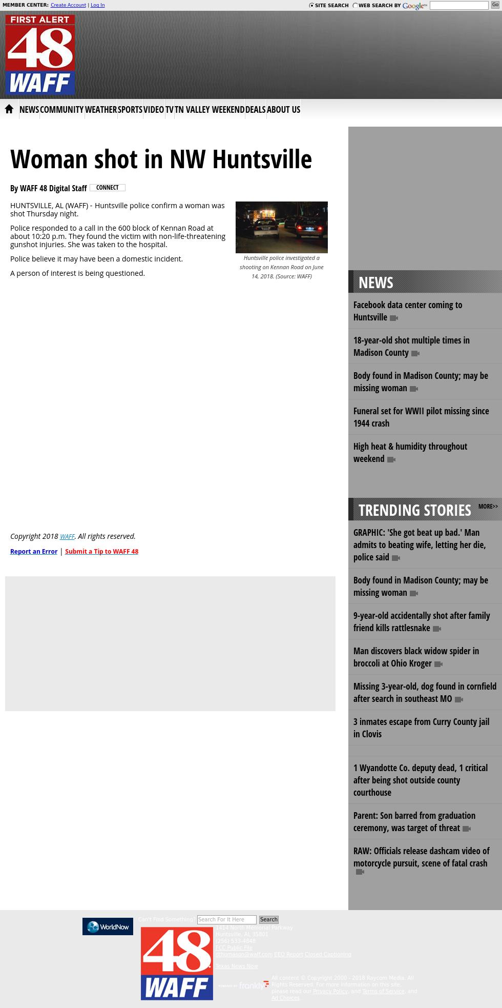 Waff 48 News New Stories