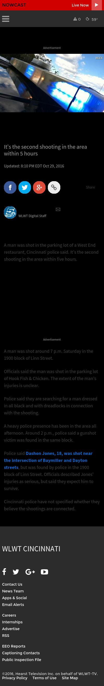 Incident gun violence archive for Hook fish chicken cincinnati oh