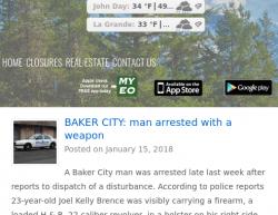 1-15-18 Oregon Baker City 0-1