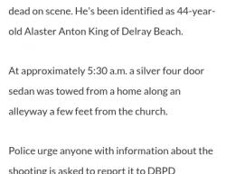 1-18-18 Florida Delray Beach 1-0