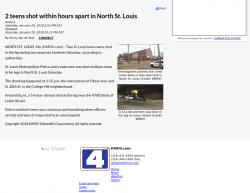 1-20-18 Missouri Saint Louis 1-0
