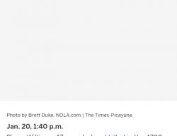 1-26-18 Louisiana New Orleans 1-0