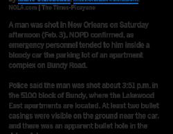 2-3-18 Louisiana New Orleans 1-0