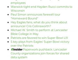2-4-18 Pennsylvania Lancaster 1-0
