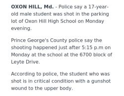 2-5-18 Maryland Oxon Hill 1-0
