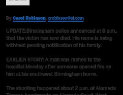 3-5-18 Alabama Birmingham 1-0