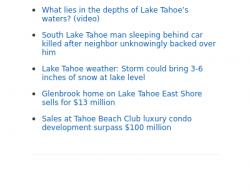 3-14-18 California South Lake Tahoe 0-1