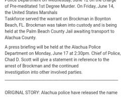 6-25-18 Florida Alachua 1-1