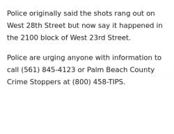 7-16-18 Florida Riviera Beach 6-1