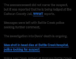 10-9-18 Michigan Battle Creek 1-1