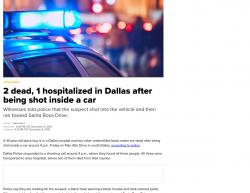 12-7-18 Texas Dallas 3-1