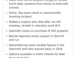 12-31-18 Georgia Lawrenceville 1-1