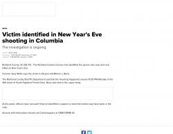 12-31-18 South Carolina Columbia 1-2