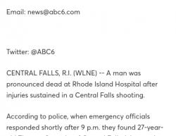 1-4-19 Rhode Island Central Falls 1-0