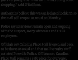 1-13-19 North Carolina Pineville 1-1