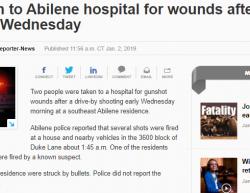 1-2-19 Texas Abilene 2-1