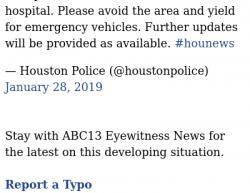 1-28-19 Texas Houston 4-2