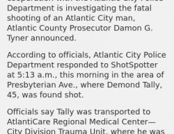 2-10-19 New Jersey Atlantic City 1-0
