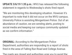 3-6-19 West Virginia Morgantown 0-1