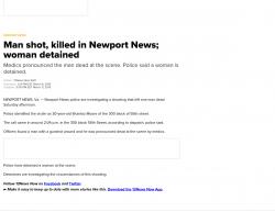 3-9-19 Virginia Newport News 1-1