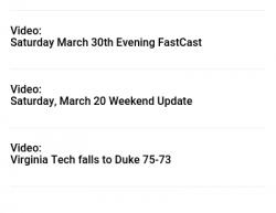 3-29-19 Virginia Charlottesville 0-1
