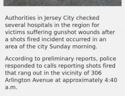 4-7-19 New Jersey Jersey City 1-0