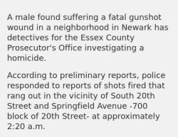 4-9-19 New Jersey Newark 1-0