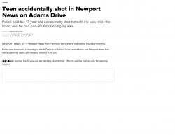 4-25-19 Virginia Newport News 1-0
