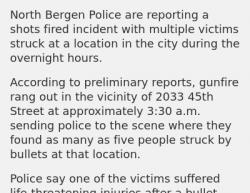 5-5-19 New Jersey North Bergen 4-1