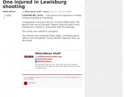 6-7-19 West Virginia Lewisburg 1-1