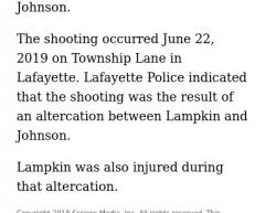 6-23-19 Louisiana Lafayette 1-1
