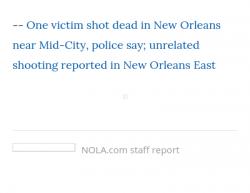 8-1-19 Louisiana New Orleans 1-0