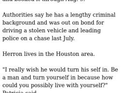 8-4-19 Texas Houston 1-1