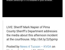 8-21-19 Arizona Tucson 1-0
