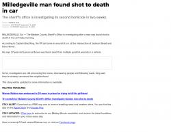 9-13-19 Georgia Milledgeville 1-0