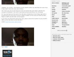 06-20-2014 AR Conway Single Victim-Single Perpetrator