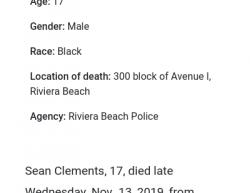 11-10-19 Florida Riviera Beach 1-0