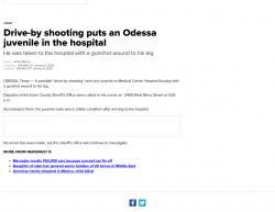 1-5-20 Texas Odessa 1-0