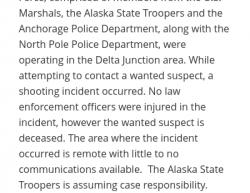 1-7-20 Alaska Delta Junction 0-1