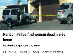 1-22-20 Texas Socorro 1-1