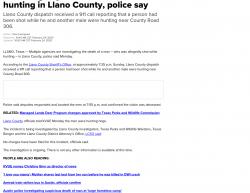 2-23-20 Texas Llano 1-1