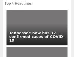 3-13-20 Tennessee Nashville 1-0