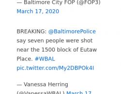 3-17-20 Maryland Baltimore 7-1