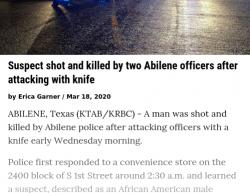 3-18-20 Texas Abilene 0-1