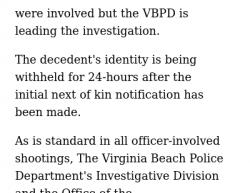 3-20-20 Virginia Virginia Beach 0-1