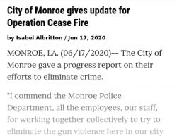 6-11-20 Louisiana Monroe 5-1